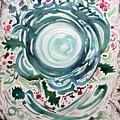 Oracular Yule Wreath by Michael Richardson