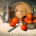 Orange And Gray by Donelli  DiMaria