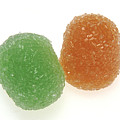 Orange And Green Gumdrops by PhotographyAssociates