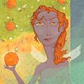 Orange Angel 1 by Dennis Wunsch