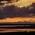 Orange Autumn Sunrise by James Truett