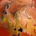 Orange-brown Series No. 1 by Carole Sluski