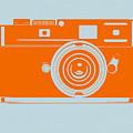 Orange camera by Naxart Studio