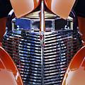 Orange Chevrolet Grille by Jill Reger