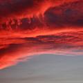 Orange Clouds by Deborah Benbrook