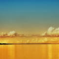 Orange Clouds by Dapixara Art