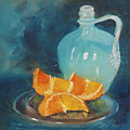 Orange Complement by Mary Benke