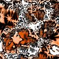 Orange Explosion by Elva Kimble
