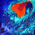 Orange Flower by Clare Mears