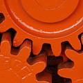 Orange Gear 2 by Michael Raiman