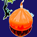 Orange Globe by John Lautermilch
