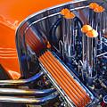 Orange Hot Rod Stacks by Robert Grant