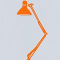Orange Lamp by Naxart Studio