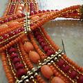 Orange Necklace by Elisabeth Lucas