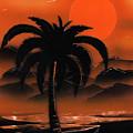 Orange Oasis by Jason Girard