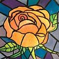 Orange Rose  by Anne Sands