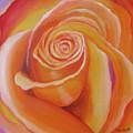 Orange Rose by Quwatha Valentine