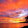 Orange Sky by Gregory Scott