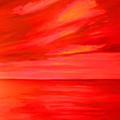 Orange Sky by Sula Chance