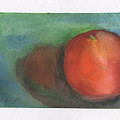 Orange Still Life by Frank Bright