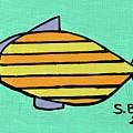 Orange Stripes by Sean Brushingham
