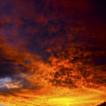Orange Sunset 1.1 by Patrick O'Brien