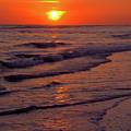 Orange Sunset by D Hackett