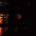 Orange Sunset by James L Bartlett