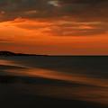 Orange Sunset by Nathan Masters