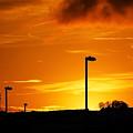 Orange Sunset by Svetlana Sewell