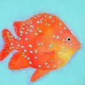 Orange Tropical Fish by Jan Matson