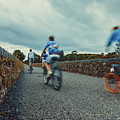 Orange Wheels On Deise Greenway by Marc Daly