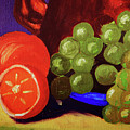 Oranges And Grapes by Toni Hopper