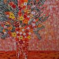 Orangey by Hema Rana