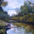 Orara River Nsw Australia 1995   by Enver Larney