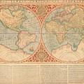 Orbis Terrae Compendiosa Descriptio  Quam Ex Magna Universali Gerardi Mercatoris Domino Richardo  by Paul Fearn