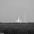 Orbital Sciences Corporation Antares Rocket by Captain Debbie Ritter