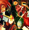 Orchestra In Abstract by Bob Dornberg