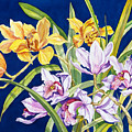 Orchids In Blue by Lucy Arnold