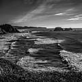 Oregon Coast At Sunset by Jon Burch Photography
