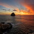 Oregon Coast Sunset by Sungwook Choi