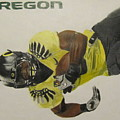 Oregon Ducks Lamichael James by Ryne St Clair