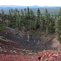 Oregon Landscape - Crater At Lava Butte by Carol Groenen