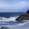 Oregon Lighthouse by John K Sampson