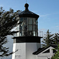 Oregon Lighthouses - Cape Meares Lighthouse by Christine Till