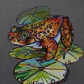 Oregon Spotted Frog Whimsey