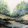 Oregon Stream by Caroline Patrick