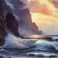Oregon Sunset by Lynne Parker