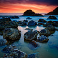 Oregon Sunset by Rick Berk
