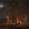 Oregon Trail by Albert Bierstadt